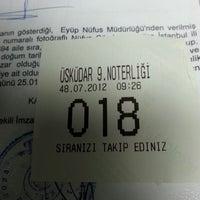 Das Foto wurde bei Üsküdar 9. Noterliği von Ahmet A. am 7/8/2013 aufgenommen