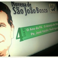 Photo taken at Paróquia São João Bosco by Pedro Henrique L. on 1/21/2013