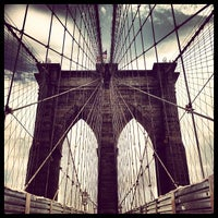 Photo prise au Pont de Brooklyn par Ilovetapatio le7/23/2013