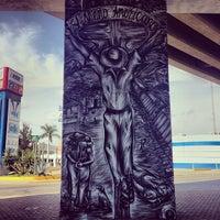 Photo taken at puente Siglo XXI by Ilovetapatio on 11/24/2013