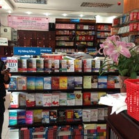 Photo taken at Fahasa Nguyễn Huệ Bookstore by Dinh P. on 12/9/2012