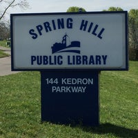Photo taken at Spring Hill Public Library by Lynn M. on 3/18/2016