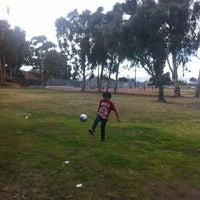 Photo taken at Eucalyptus Park by Mara M. on 3/4/2013