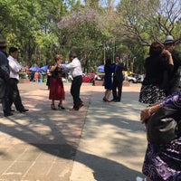 Photo taken at Plaza del danzon by Edith G. on 3/12/2016