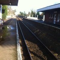 Photo taken at Wymondham Railway Station (WMD) by Michael T. on 1/13/2014