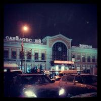 Photo taken at Savyolovsky Rail Terminal by Mike S. on 1/6/2013