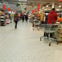 Photo taken at Kaufland by Eric R. on 4/6/2017