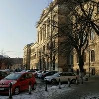 Photo taken at Universitatea Babeș-Bolyai by Eric R. on 1/31/2017