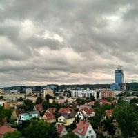 Photo taken at Przymorze by Maciej H. on 7/2/2017