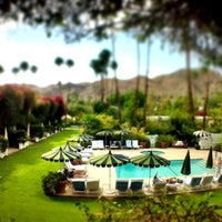 Photo taken at Le Parker Méridien Palm Springs by Diana H. on 9/29/2012