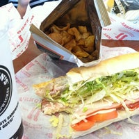 Photo taken at Jimmy John's by Matt N. on 3/25/2013