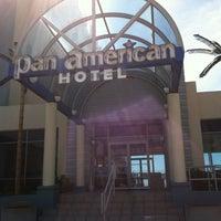 Photo taken at Pan American Hotel by Matt N. on 4/28/2013