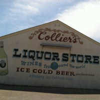 Photo taken at Colliers Liquor Store by Matt N. on 4/28/2013