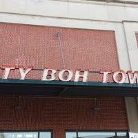 Photo taken at Natty Boh Tower by Matt N. on 6/29/2014