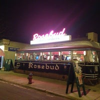 Photo taken at Rosebud Diner by Antonio F. on 3/17/2013