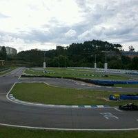 Photo taken at Kartódromo Internacional de Farroupilha by Lucas d. on 10/21/2012