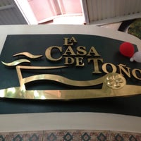 Photo taken at La Casa de Toño by Stephanie F. on 5/11/2013