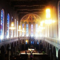 Photo taken at St. Monica-St. George Church by Harry B. on 3/8/2013