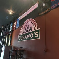 Photo taken at Gusano's Chicago Style Pizzeria & Sports Bar by Tony D. on 5/18/2016