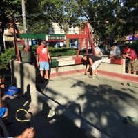 Photo taken at William F. Moore Park ('Spaghetti Park') by Jeff S. on 7/2/2016