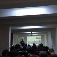 Photo taken at D.Ü. Tıp Fakültesi Seminer Salonu by Osman U. on 1/11/2016