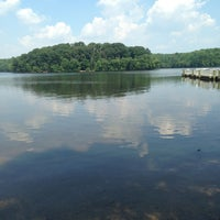 Photo taken at Burke Lake by Connor M. on 7/18/2013