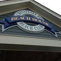 Photo taken at Chesapeake Bay Beach Club by Mariel B. on 7/13/2013