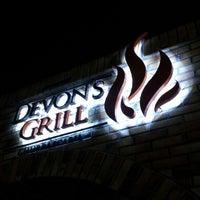 Photo taken at Devons Steak House by Felipe R. on 3/16/2013