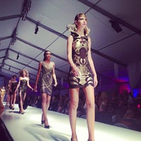 Photo taken at Omaha Fashion Week by Chinh D. on 8/25/2013