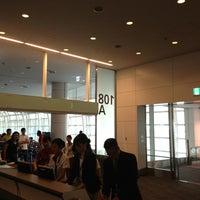 Photo taken at 羽田空港 108番ゲート (HND - GATE 108) by Yusuke S. on 6/16/2013