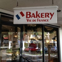 Photo taken at Vie De France Bakery & Cafe by Socrates P. on 1/1/2013