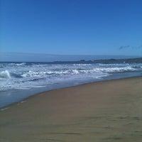 Photo taken at Gazos Creek Beach by John D. on 11/17/2012