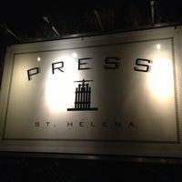 Photo taken at Press Restaurant by Sarah H. on 3/16/2013