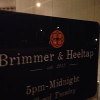 Foto scattata a Brimmer & Heeltap da Nathan M. il 2/20/2014