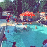 Photo taken at Piscina Hotel Termal by Claudia M. on 8/24/2016