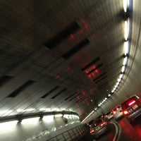 Photo taken at Holland Tunnel by Glenn D. on 2/24/2013