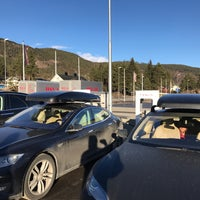 Photo taken at Tesla Supercharger by Føkk F. on 3/18/2017