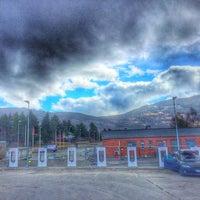 Photo taken at Tesla Supercharger by Føkk F. on 4/26/2016