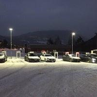 Photo taken at Tesla Supercharger by Føkk F. on 12/27/2015