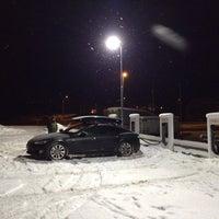 Photo taken at Tesla Supercharger by Føkk F. on 1/31/2014