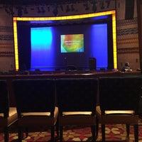 Photo taken at Cabaret Theater - Mohegan Sun by Kai  L. on 2/10/2016
