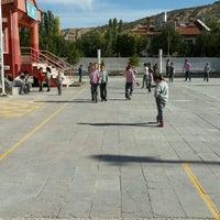 Photo taken at basarakavak ortaokulu by Ahmet Türkan Ö. on 10/3/2016