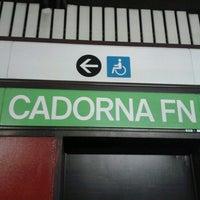 Photo taken at Metro Cadorna FN Triennale (M1, M2) by Vincio on 7/2/2013