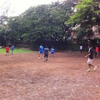 Photo taken at Govardhan Nagar Football Turf by Shyam V. on 6/30/2013