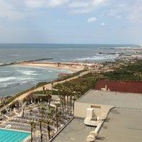 Photo taken at Hilton Tel Aviv by Anastasia D. on 4/21/2013
