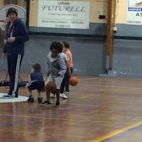 Photo taken at Royal Nivelles Basket-Ball Club by Philippe G. on 2/26/2014
