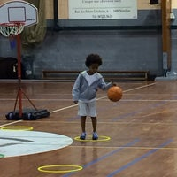 Photo taken at Royal Nivelles Basket-Ball Club by Philippe G. on 1/29/2014