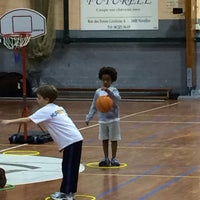 Photo taken at Royal Nivelles Basket-Ball Club by Philippe G. on 2/5/2014