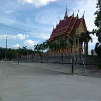 Photo taken at Wat Si Wanophat Sathitporn by seehakit s. on 12/20/2012