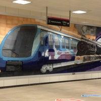 Photo taken at Kozyatağı Metro İstasyonu by Ayfer Katharine U. on 10/28/2012